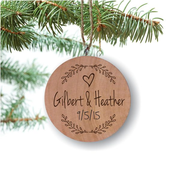 Personalized Wood Christmas Ornaments (Click Image to View the Listing)