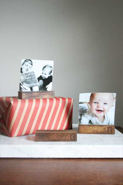 How to Make a Photo Holder | Easy Stocking Stuffer!