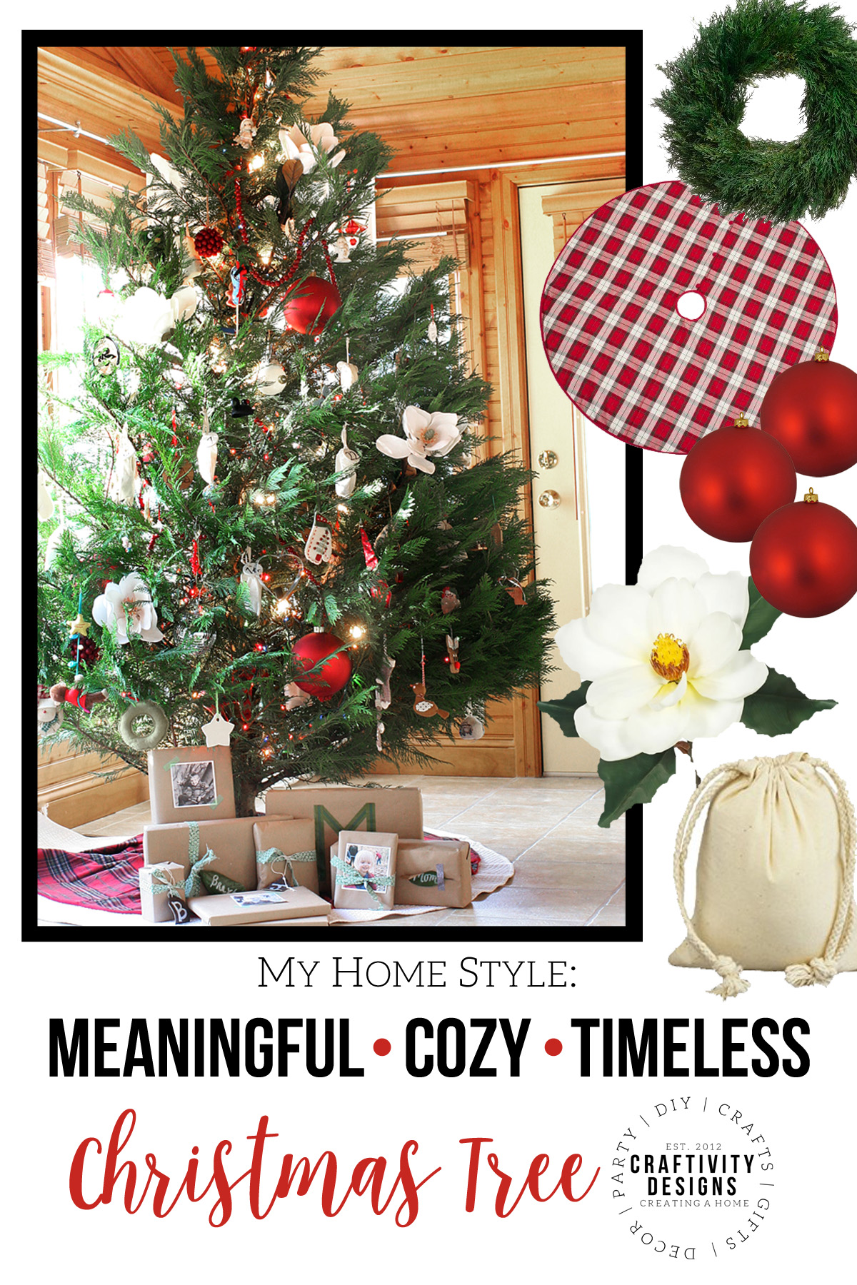 How to decorate a southern style christmas tree with for Style christmas