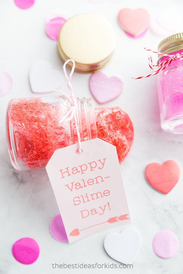 Valentines day slime