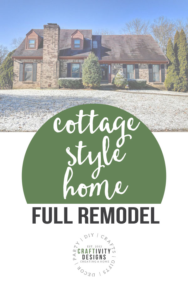 cottage style home full remodel