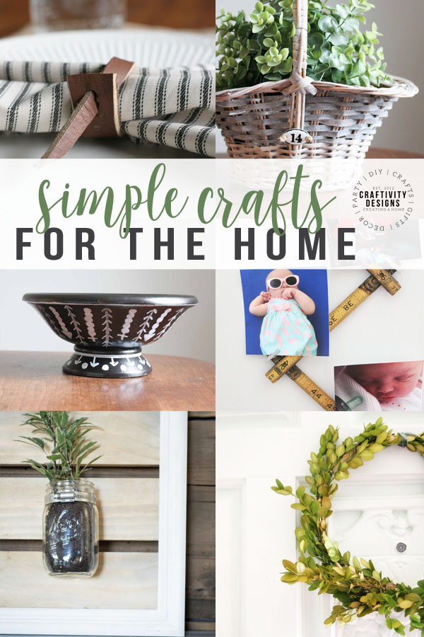 simple crafts for the home, crafts home decor