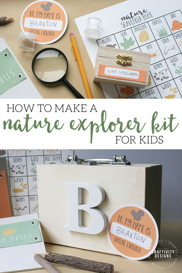 how to make a nature explorer kit for kids