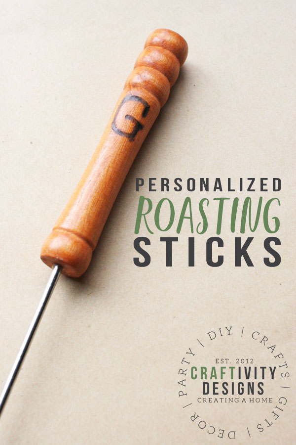personalized roasting sticks