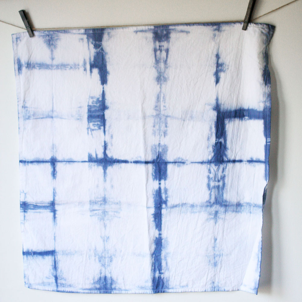 wood block, itajime, shibori, technique, tie dye design