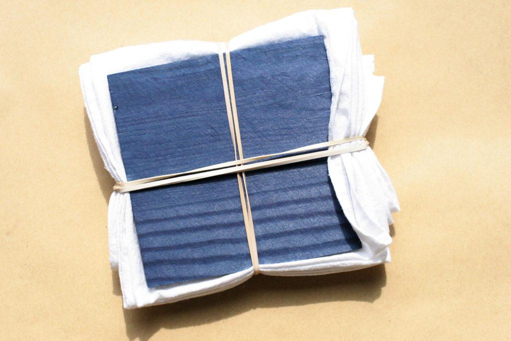 shibori techniques, itajime, tie dye design