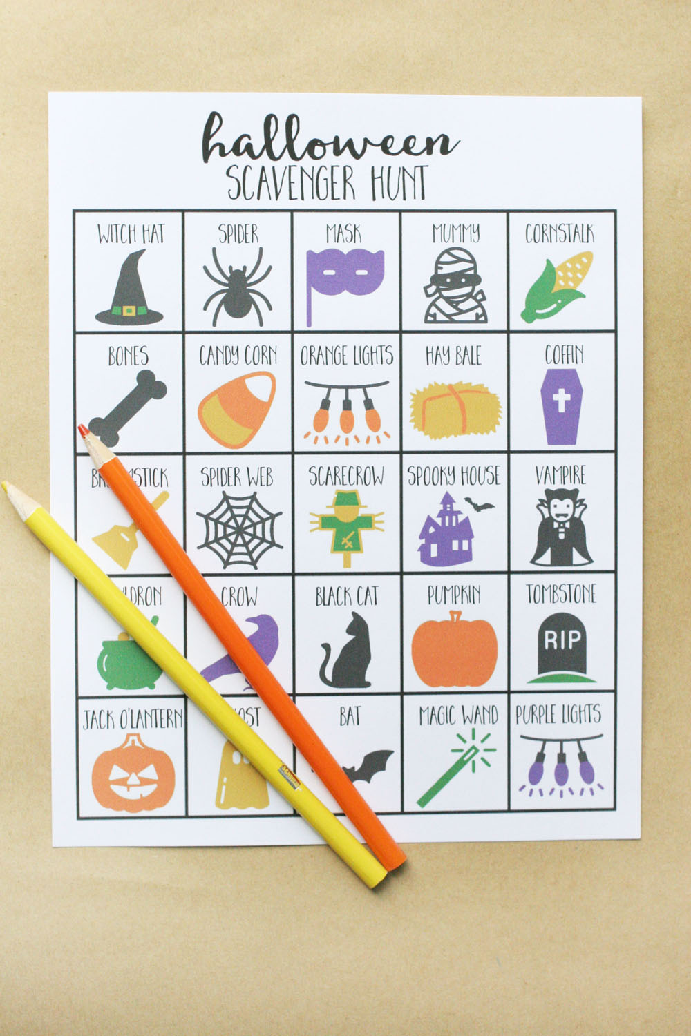 How to Play a Fun Halloween Scavenger Hunt Game ...