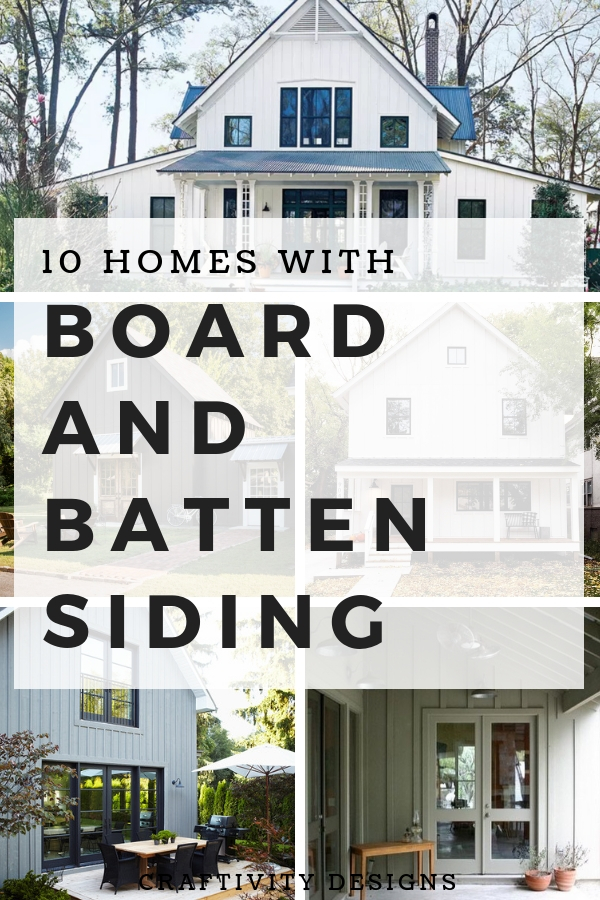 10 Stunning Home Exteriors With Board And Batten Siding Craftivity