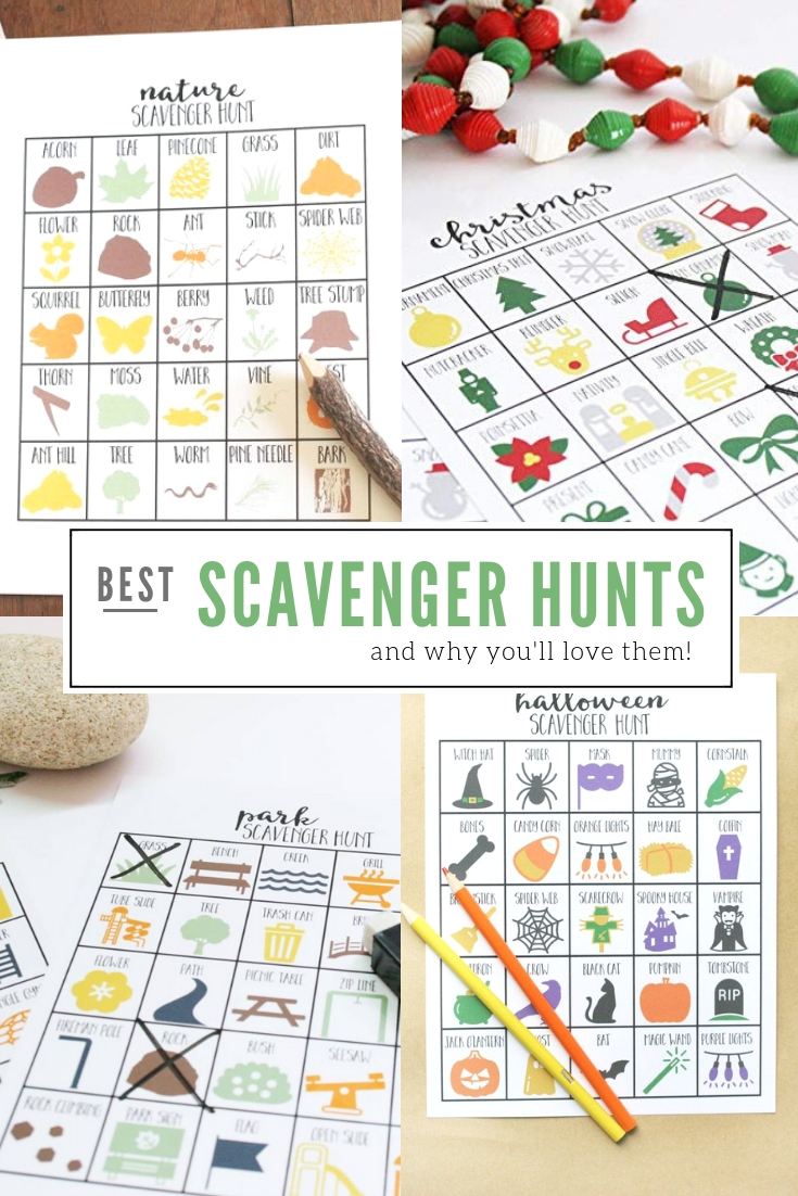 best scavenger hunts for kids