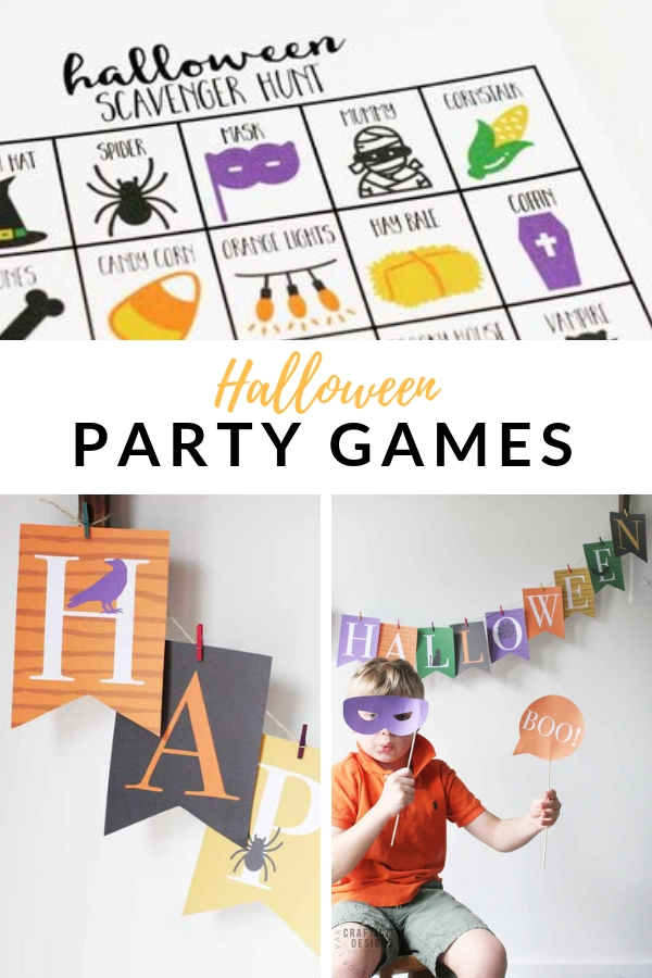 halloween party games for families