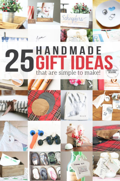 25+ Handmade Gift Ideas (that are simple!)