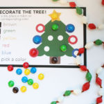 Roll a Tree Christmas Dice Game