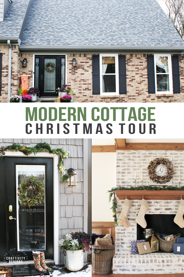 Modern Cottage Christmas Tour