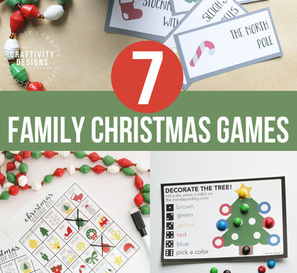 7 Family Christmas Games that Make Great Stocking Stuffers
