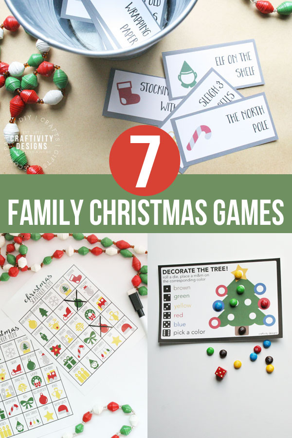 7 Family Christmas Games