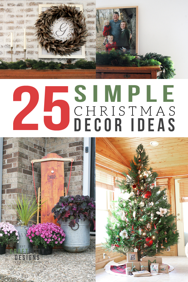 25 Simple Christmas Decorations