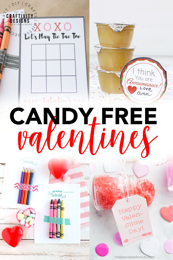 Candy Free Valentines, Non Candy Valentines