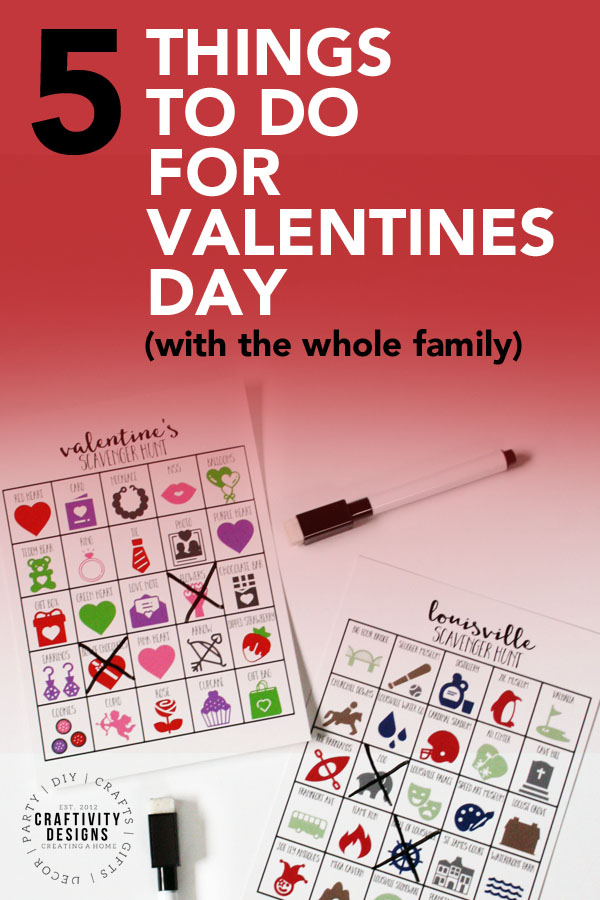 5 things to do on valentines day with the whole family, what to do on valentines day
