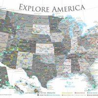 Explore America Map