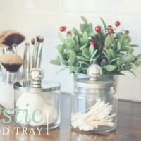 7th Day of Craftmas - Rustic Bathroom Containers