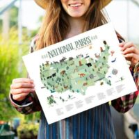 National Park Printable Map