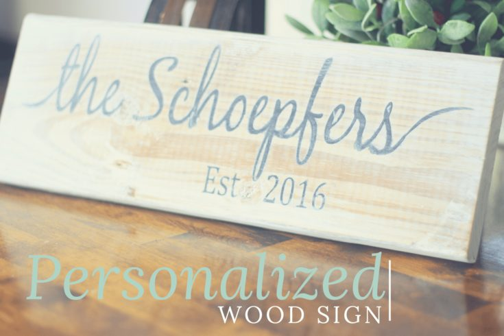 11th Day of Craftmas - Wooden personalized Sign - Meetourlife