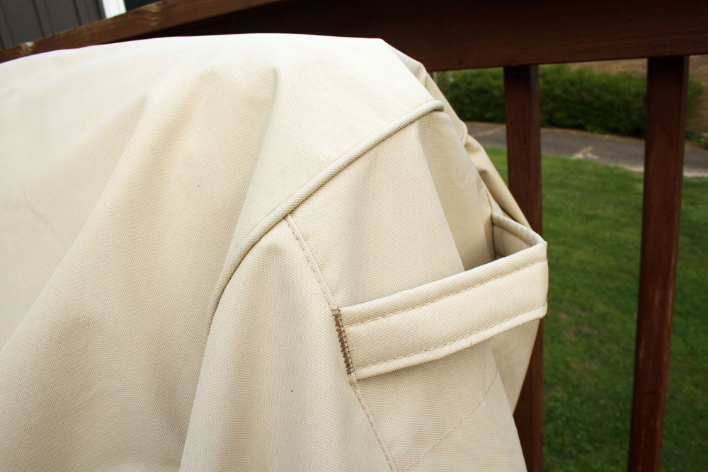 outdoor furniture covers handle