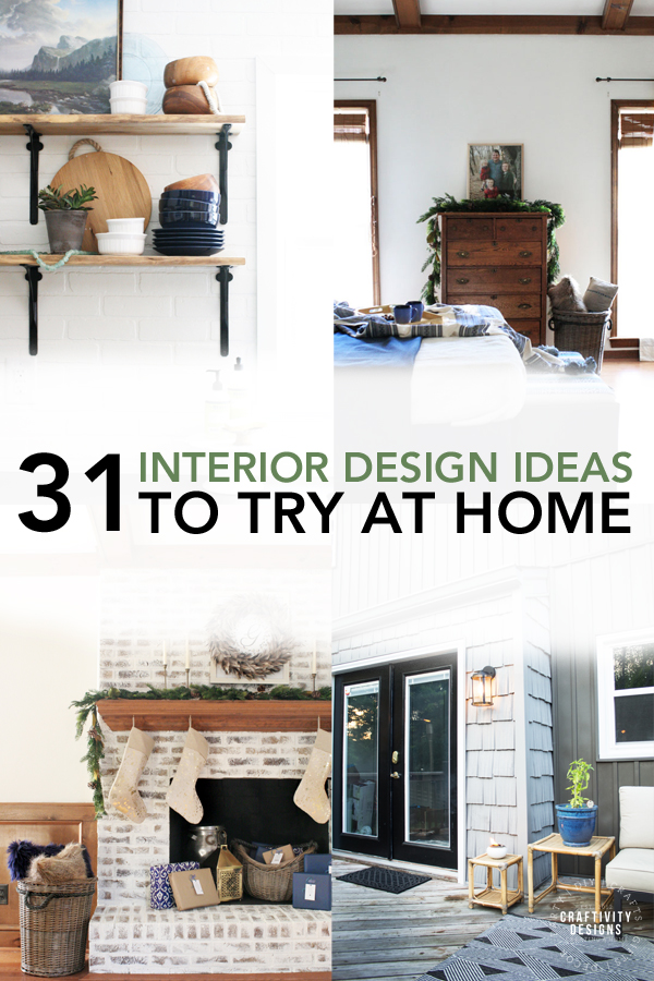 31 interior design ideas to try at home