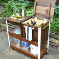 DIY Grill Cart or Bar Cart