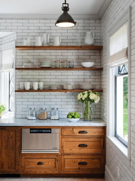 Distress Oak Cabinets to a Raw Finish