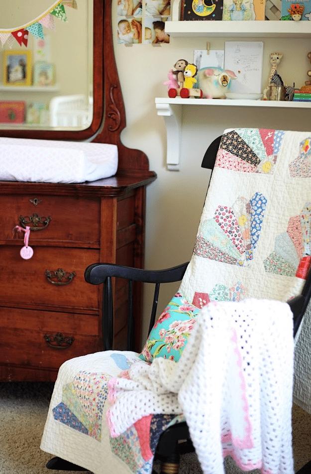 Toss an Antique Quilt over a Chair