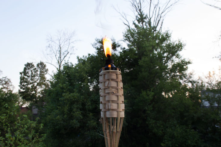 How to Install a Tiki Torch Deck Mount