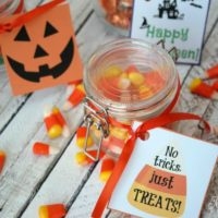 Free Printable Halloween Gift Tags for Candy Treats