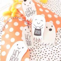 "DIY: ""Hey Boo"" Halloween Tag Printables"