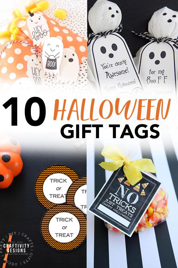 10 Halloween Gift Tags