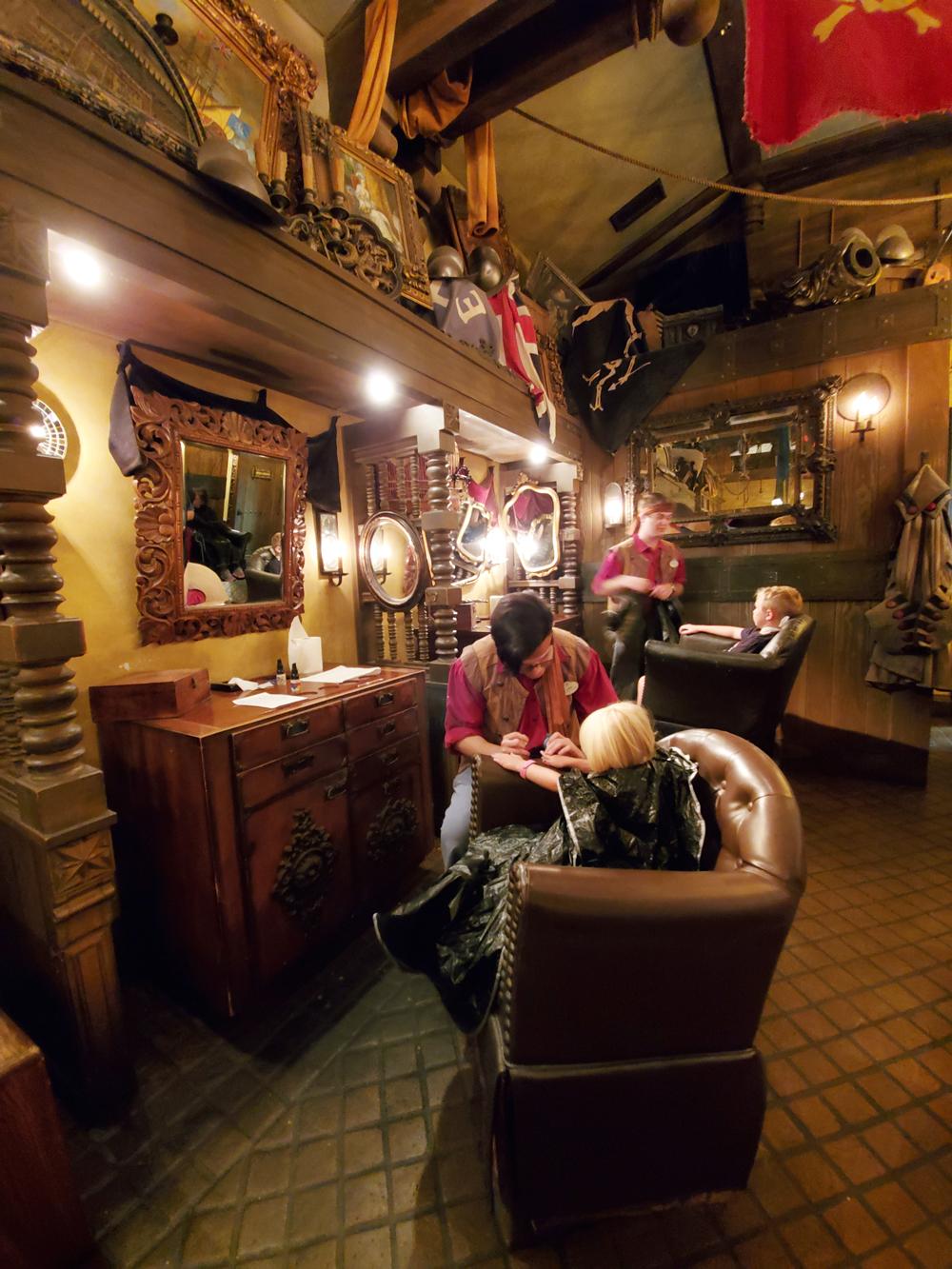 Inside the Pirates League at Magic Kingdom in Disney World
