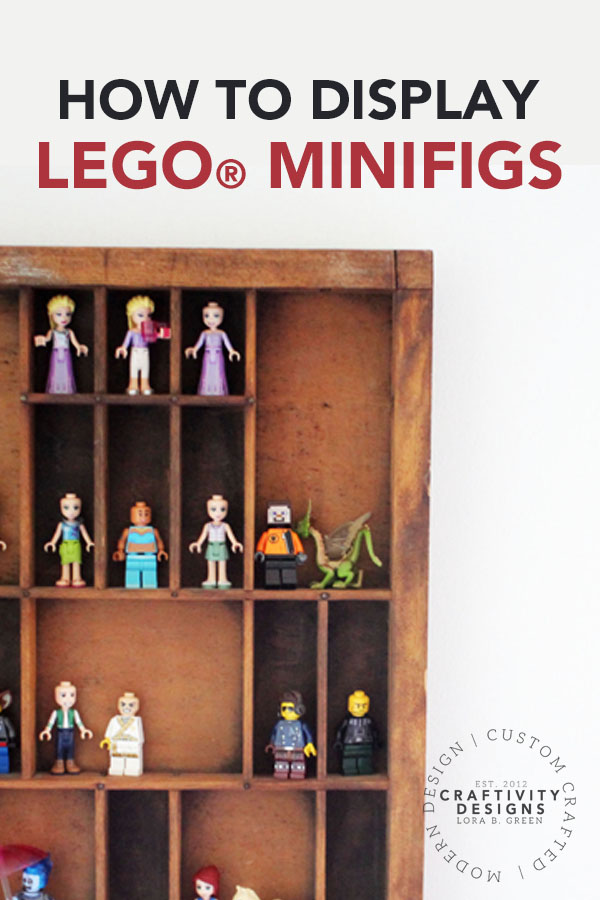 How to Display LEGO® Minifigures
