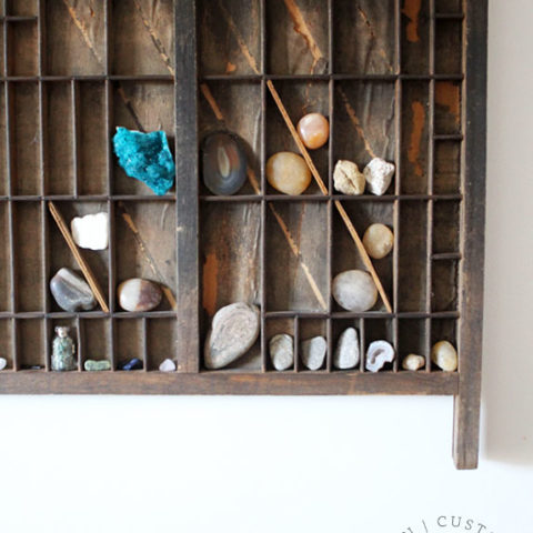 How to Hang a Shadow Box (or Heavy Picture Frame)