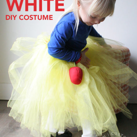 How to Make a DIY Snow White Costume