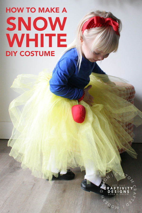 How to make a Snow White DIY costume