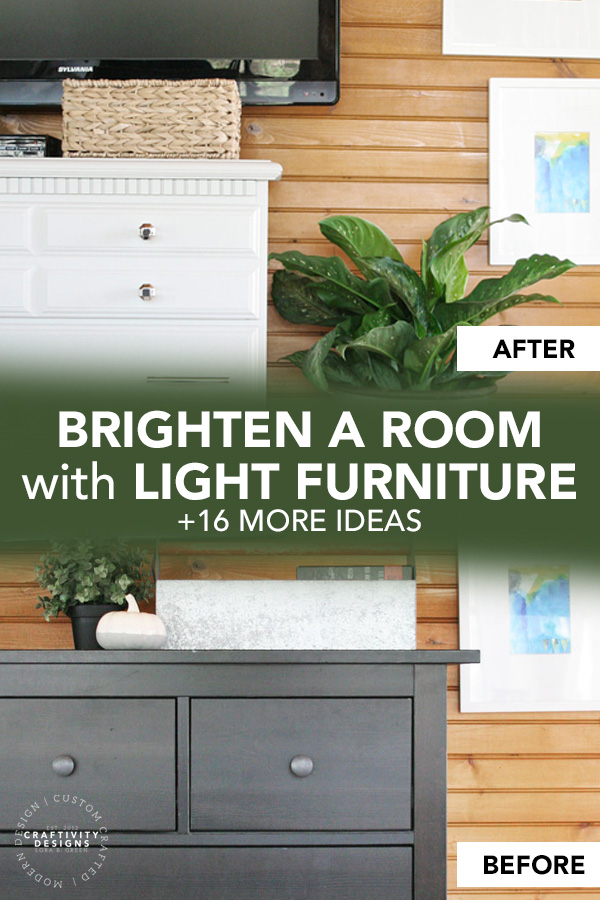 Brighten a Room with Light Furniture, + 16 More Ideas to Brighten a Dark Room