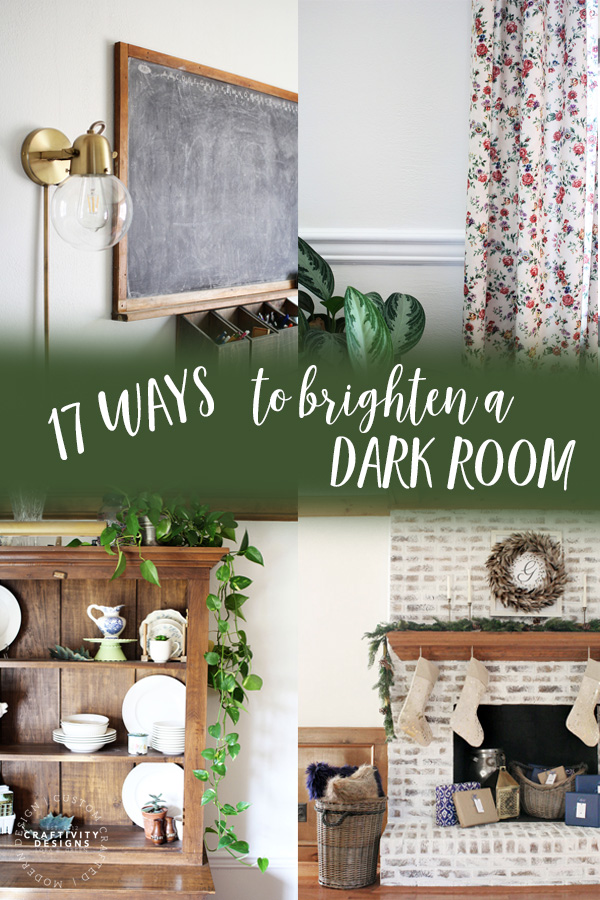17 Ways to Brighten a Dark Room by Craftivity Designs
