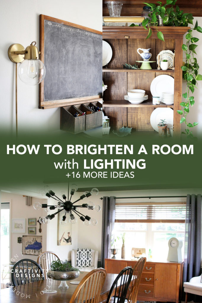 How to Brighten a Dark Room with Lighting, + 16 More Ideas to Lighten a Dark Room
