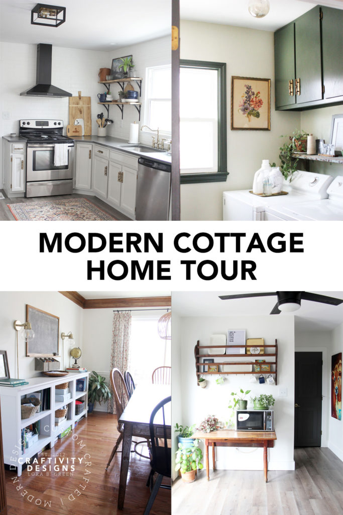 Modern Cottage Home Tour by Craftivity Designs