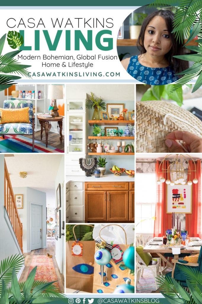 Casa Watkins Living - Modern, Bohemian, Global Fusion