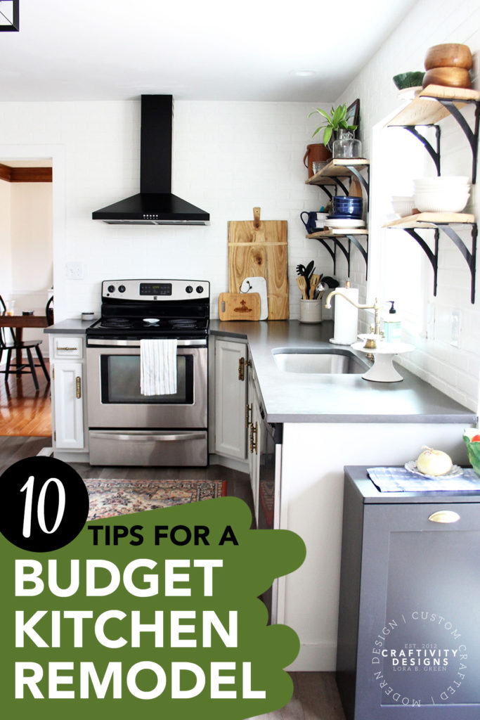 10 Tips for a Budget Kitchen Remodel