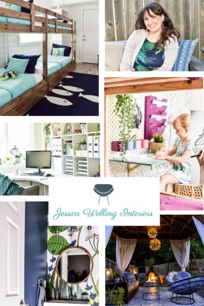 Jessica Welling Interiors - Colorful, Modern, Boho Style