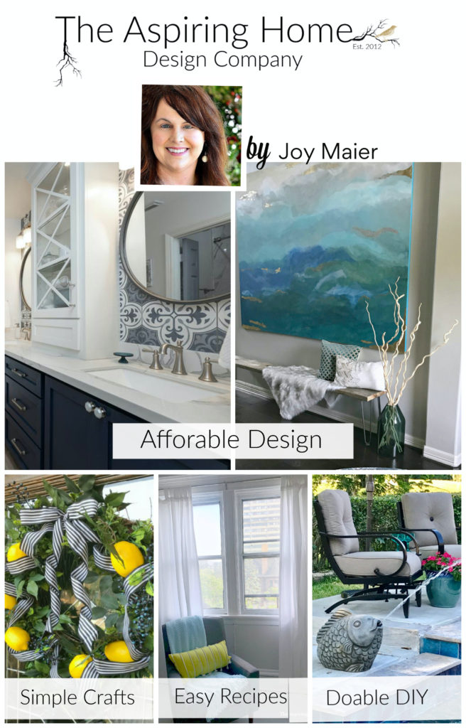 The Aspiring Home - Light, Bright, Eclectic, Glam Style