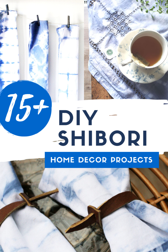 beautiful diy shibori home decor projects