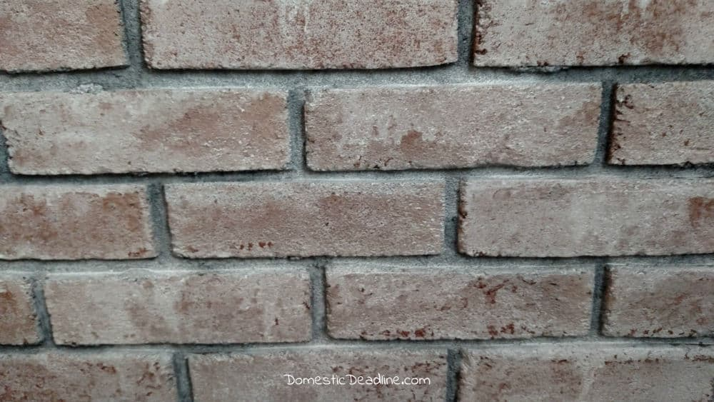 How to Whitewash Brick by Domestic Deadline